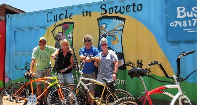 Tourist attractions johannesburg soweto bicycle tour