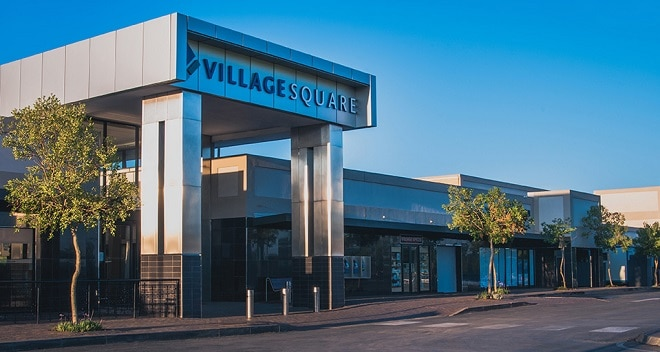 Village Square Shopping Centre in Randfontein.