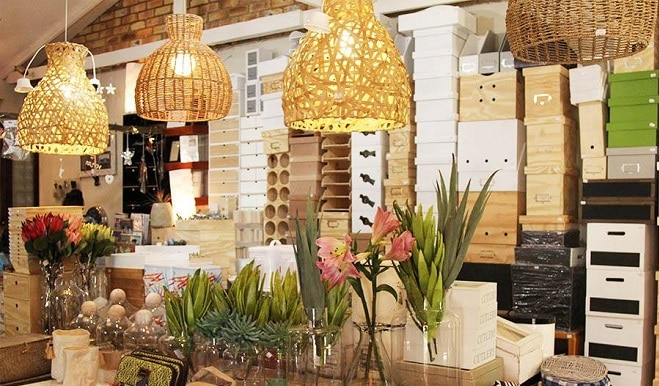 Santos storage shop in Parkhurst, Johannesburg, South Africa